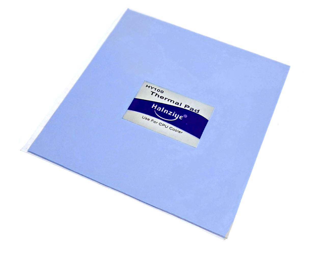 Термопрокладка Halnziye HC20 1.0мм 100х100 синяя 4 Вт/(м*К) термоинтерфейс для ноутбука (TPr-HC20)