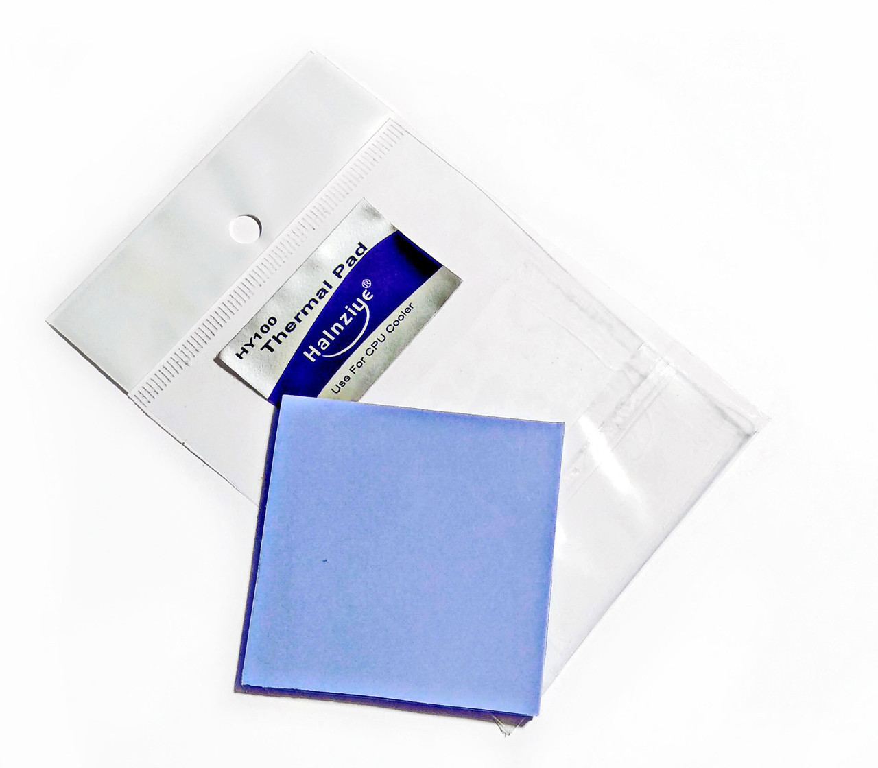 Термопрокладка Halnziye HC34 1.5 мм 50х50 синя 4 Вт/м*К термоінтерфейс для ноутбука (TPr-HC34)