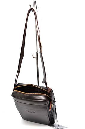 Мужская сумка мессенджер Polo Vicuna Коричневый (880912), фото 2