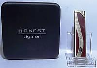 Подарочная зажигалка HONEST Пламя: турбо PZ27177