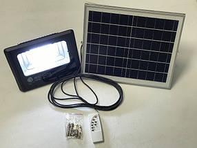 Уличный прожектор на солнечной батарее 40w Тiger-40 6400К IP65 Код.59618