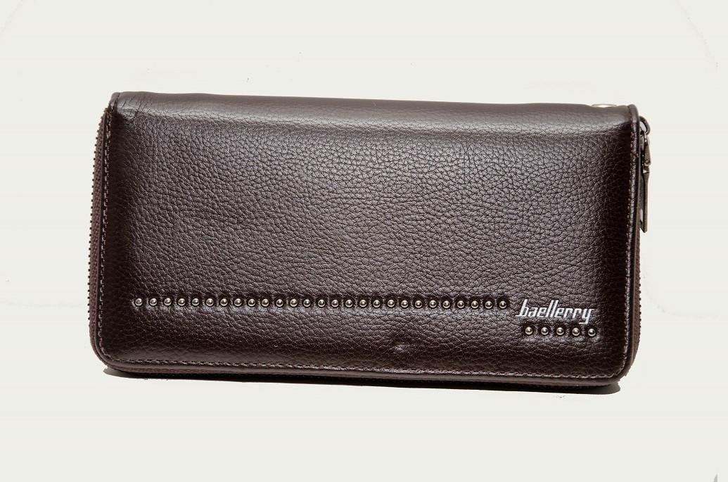 Мужской кошелек Baellerry Business Mens Wallet Коричневый (60862)
