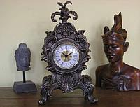Часы каминные Veronese в стиле барокко Королевский цветок WS-614