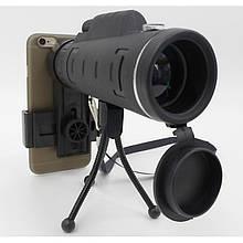 Монокуляр 40x60 HD Bushnell 1500-9500 m с двойной фокусировкой (стекло)