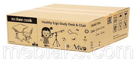 Комплект парта + стул трансформеры Vivo II Green FUNDESK, фото 3