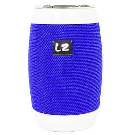 Портативная Bluetooth колонка LZ M128 Blue (2957-8349)