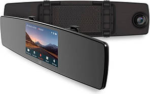 Видеорегистратор Xiaomi Yi mirror dash cam + задняя камера Зеркало  (Global version)