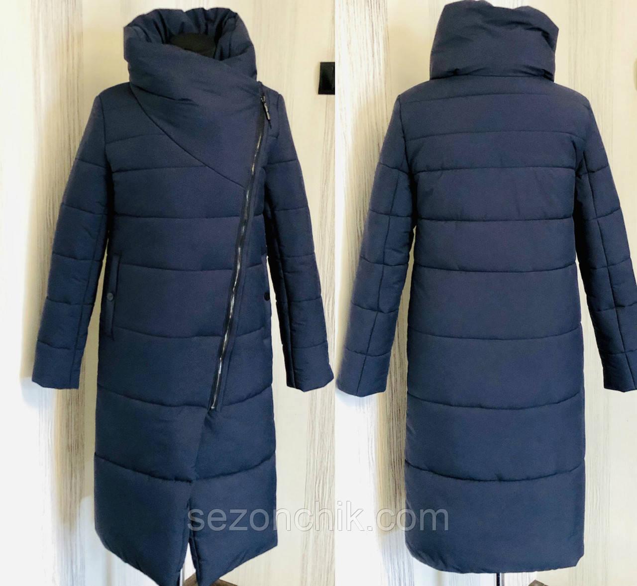 Зимние куртки женские удлинённые модные