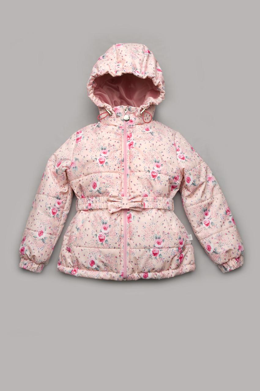 Куртка демисезонная  для девочек от 5 до 8 лет