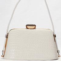 Женская сумка - клатч Giorgio Ferrilli белая