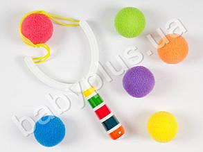 Рогатка мягкие шары, в кульке