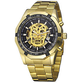 Мужские часы Winner 486 Gold (3080-8721а)