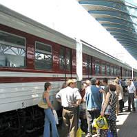 Реклама на ж/д вокзале