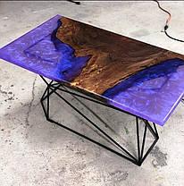 Эпоксидная смола ПРОСТО И ЛЕГКО для заливки 3D столешниц 1 кг Бесцветный (epoxy_stol_3d_pl_1kg), фото 3