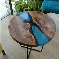 Эпоксидная смола ПРОСТО И ЛЕГКО для заливки 3D столешниц 1 кг Бесцветный (epoxy_stol_3d_pl_1kg), фото 2