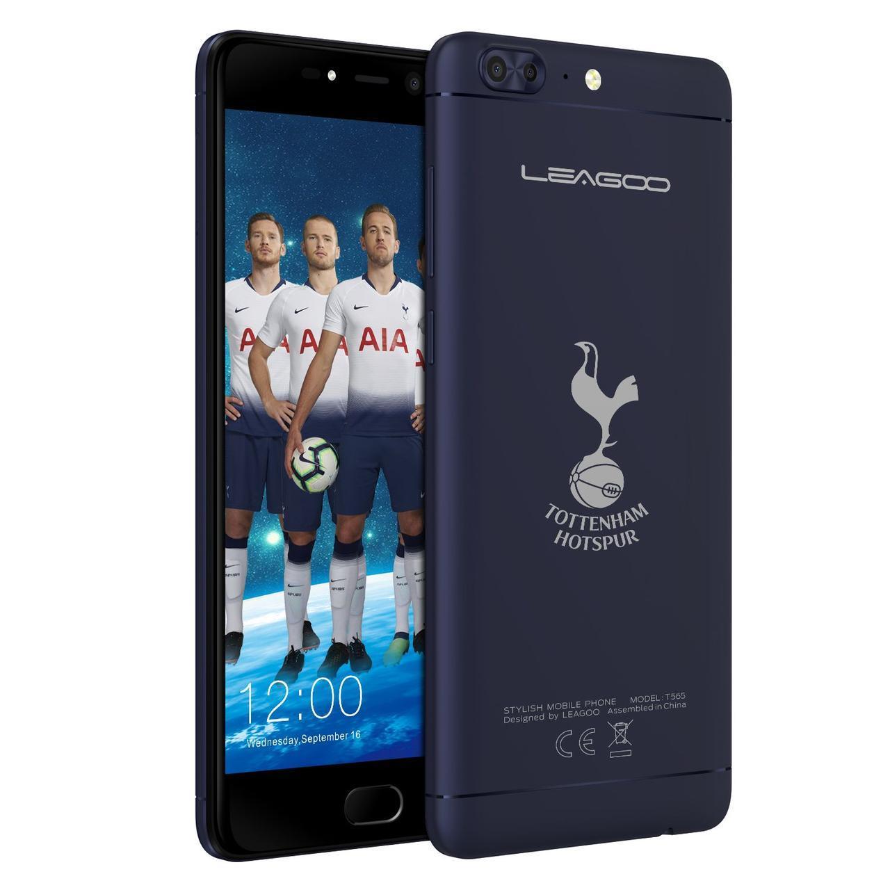 Смартфон Leagoo T5 4/64GB Blue (Tottenham)