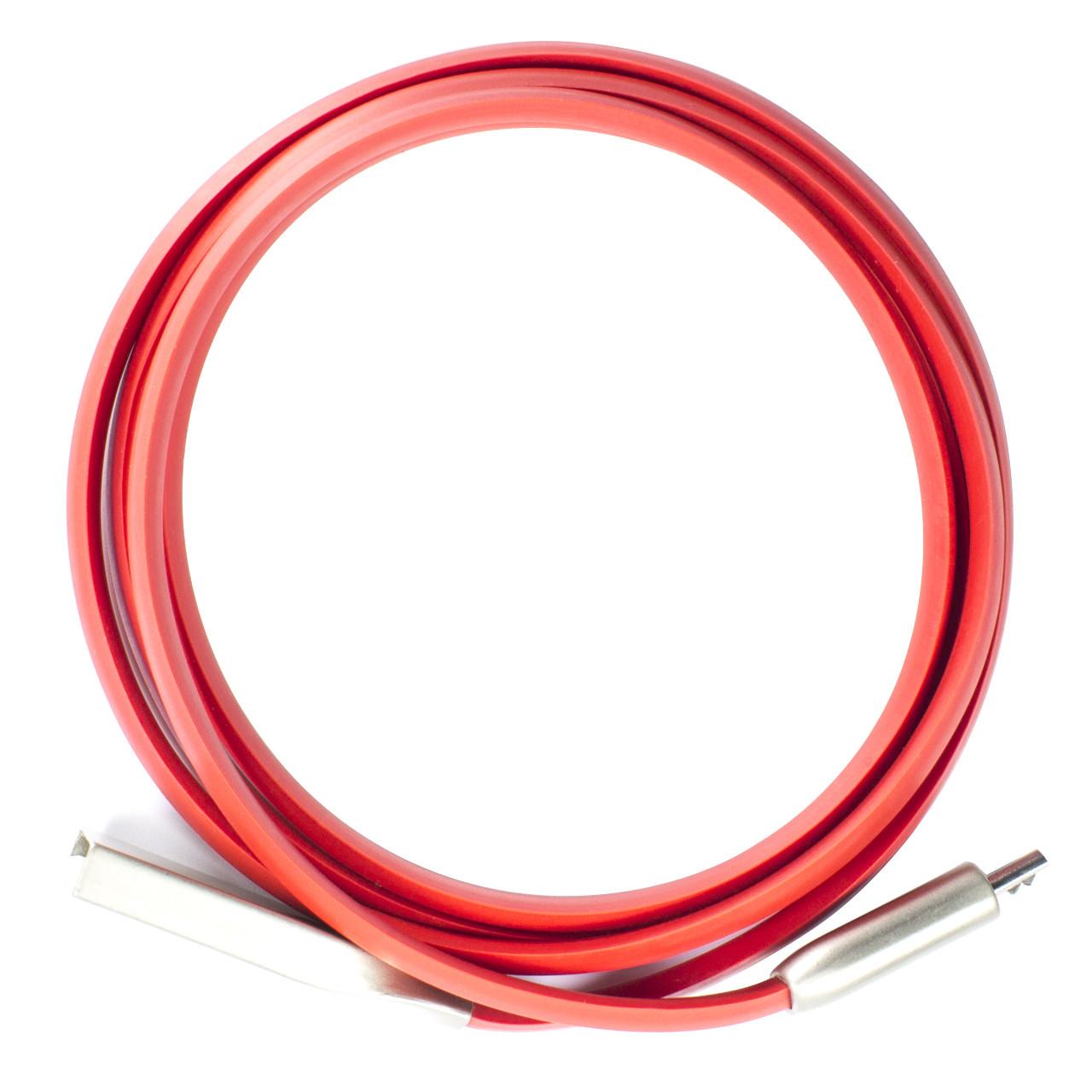 Кабель Lesko USB - microUSB Red (1822-6287а)