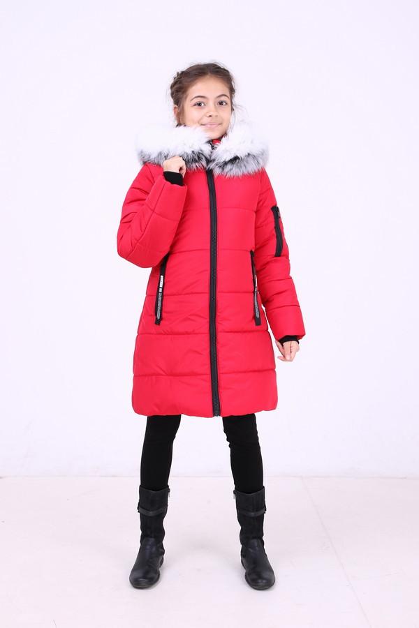 Зимняя удлиненная куртка  для девочек   Карина