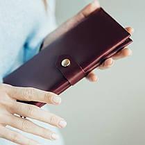 Кожаный кошелек Lucky Max Марсала (20018), фото 3