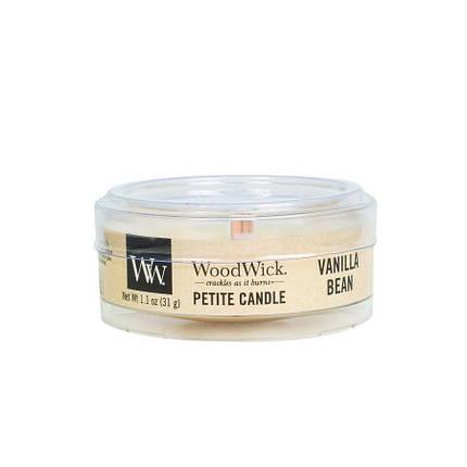 Ароматическая свеча Petite Vanilla Bean Woodwick 31 г (66112E), фото 2