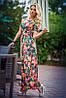 Платье модное с цветками , фото 2