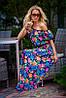 Платье модное с цветками , фото 3