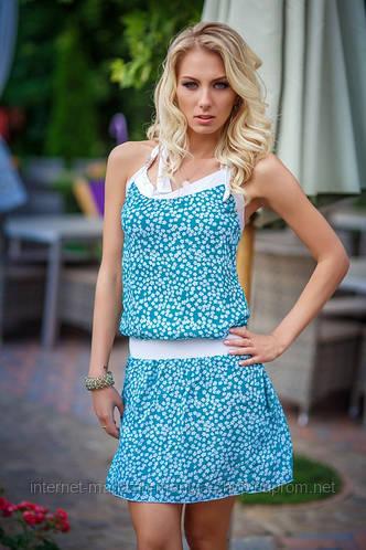Платье штапель лето