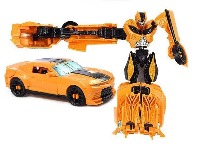 Трансформер Бамблби - Bumblebee, TF4, Power Attacker, Hasbro