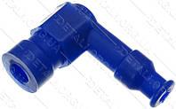 Насвечник Г-образный 90° синий