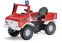 Машина Педальная Пожарная Unimog Rolly Toys 36639