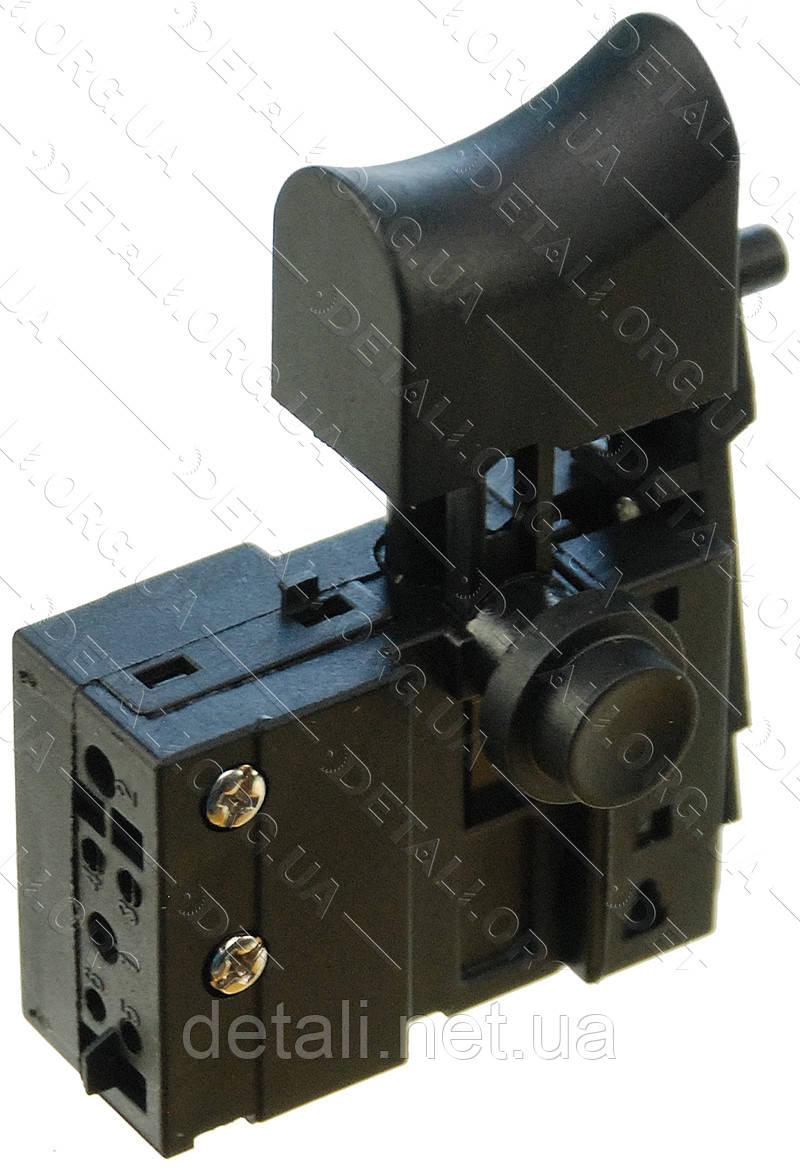 Кнопка мережевого шуруповерта Зеніт ЗШ-550 Профі