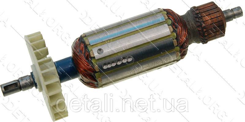 Якорь болгарка Einhell / Topex 125 (161*37 шпонка 8мм)