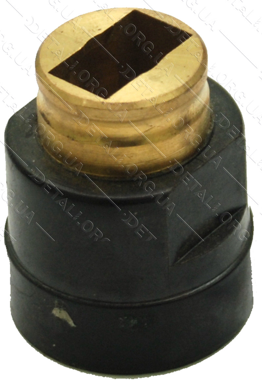 Щеткодержатель 8х14,5 H 34mm под пробку 20mm кр.шаг