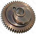 Шестерня-ексцентрик лобзика d40*9 46 / 46 зубів право шток 4мм, фото 2
