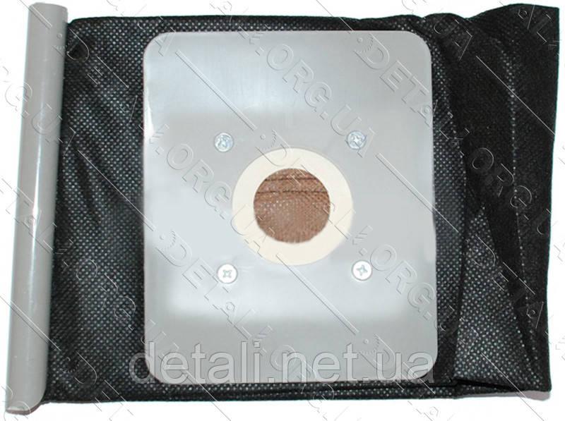 Мешок пылесоса универсальный черный на планке пластина 120*145 d45