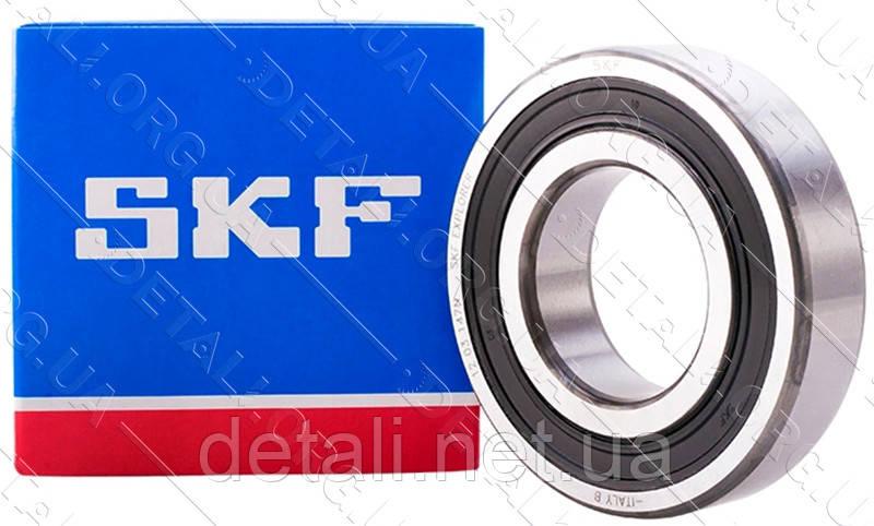 Подшипник 6209 RS SKF (45*85*19) резина