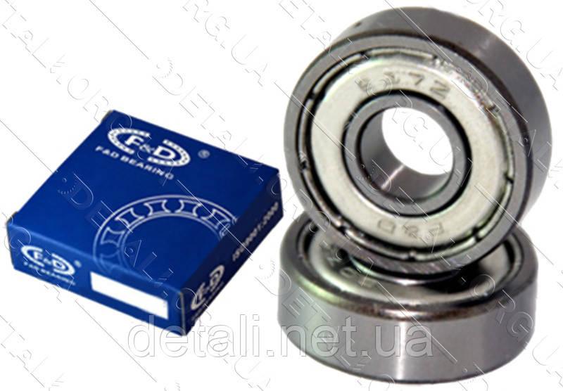 Подшипник F&D 6204 ZZ (20*47*14) металл