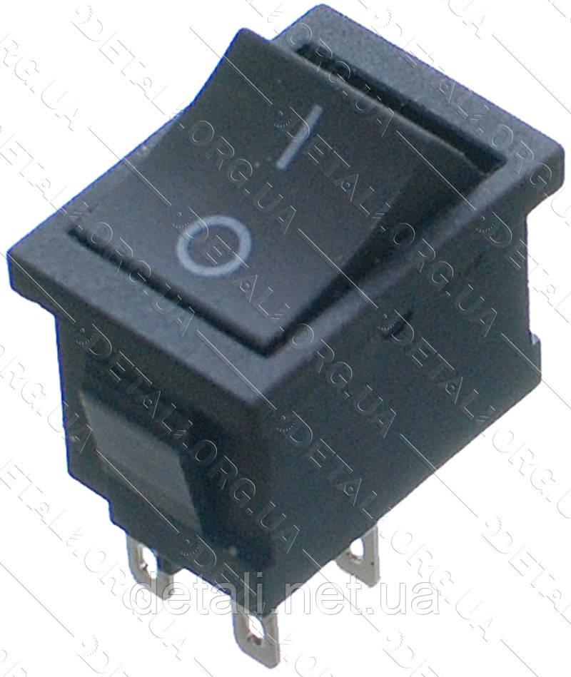 Тумблер 2 положения 4 контакта 15*21 mm 6A