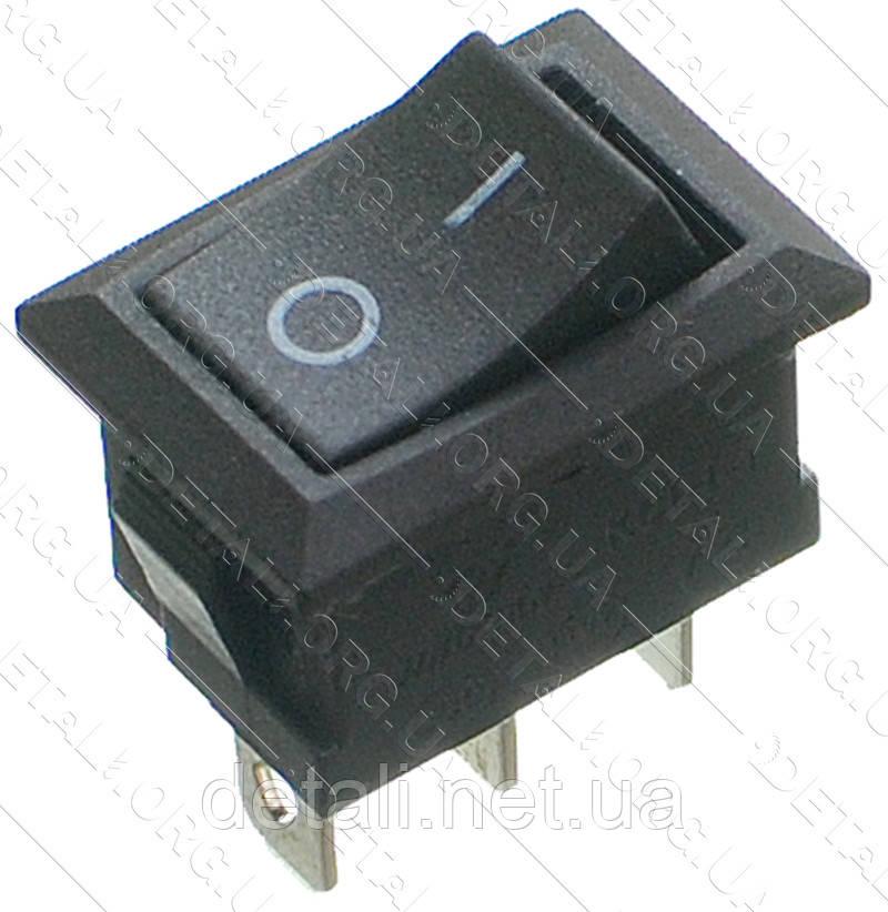 Тумблер 2 положення 3 контакту 15*21 mm h23mm 6A