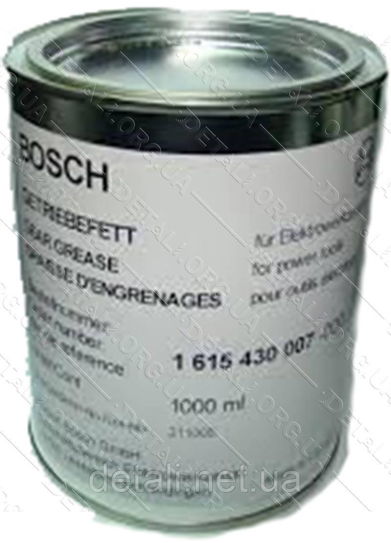 Смазка Bosch для перфораторов и отбойных молотков банка 1000мл желтая оригинал 1615430007