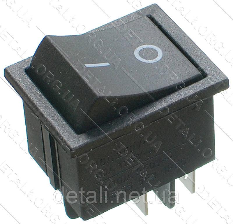 Тумблер 2 положення 4 контакту 26*33 mm 16A