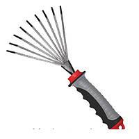 Грабли веерные 230 ммx100 мм с комбинированной рукояткой Intertool FT-0023
