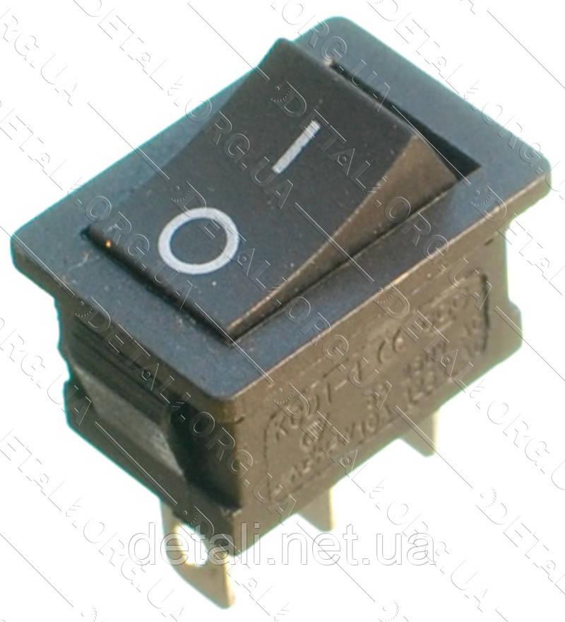 Тумблер 2 положення 3 контакту 15*21 mm 6A