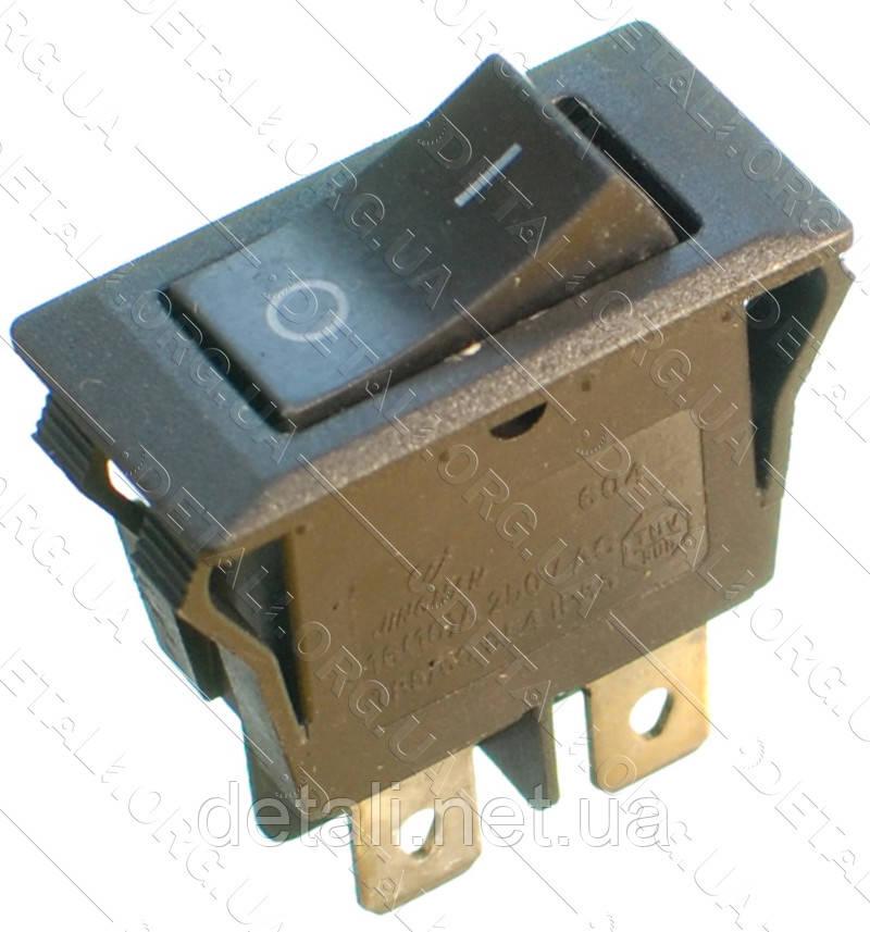Тумблер 2 положения 4 контакта 17*33 mm 16A