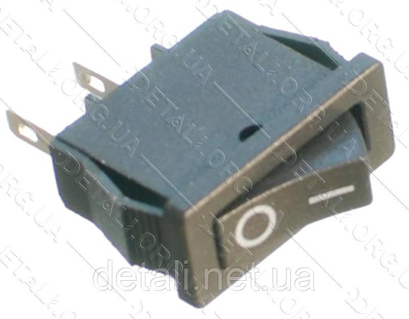 Тумблер 2 положення 2 контакту 10*21 mm 6A