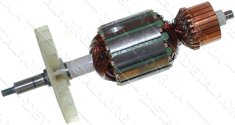 Якір пила ланцюгова Wintech 2250, Арсенал ПЦ-2300, Элпром ЕЦП-2400 (178*47 різьблення 6 мм)
