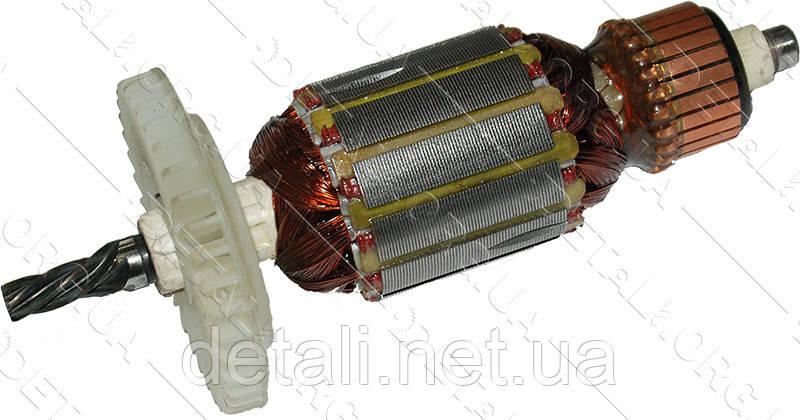 Якір дриль Интерскол ДУ-350 новий (129.5*35 5-з вліво)