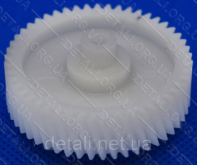 Шестерня мясорубки Бриз, Аксион (D42/11 мм, H25/11.5 мм, зуб 50/11) мет/пластик - 16-H-19