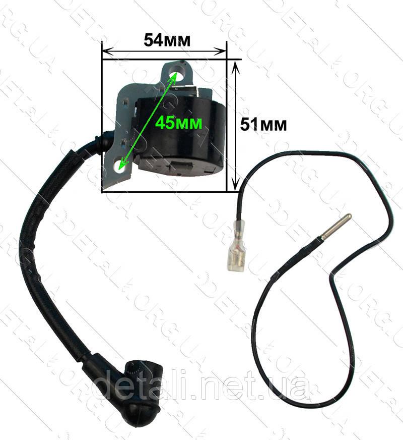 Катушка зажигания мотокосы Stihl FS-450 аналог 41284001306