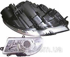 Фара передняя для Skoda Superb '09- правая (DEPO) под электрокорректор